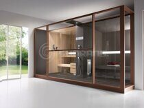 Финская сауна Sunrans SF1H008 Effegibi logika twin design Африканский абаш (373х260)